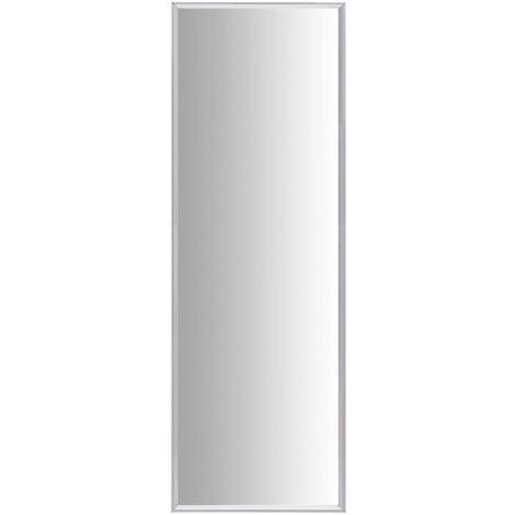 vidaXL Espejo plateado 150x50 cm - Plateado