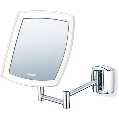 Beurer Espejo cosmético con luz 16 cm BS 89 - Plateado