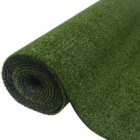 vidaXL Césped Artificial Hierba Verde PP 7-9 mm 0.5x5 m - Verde
