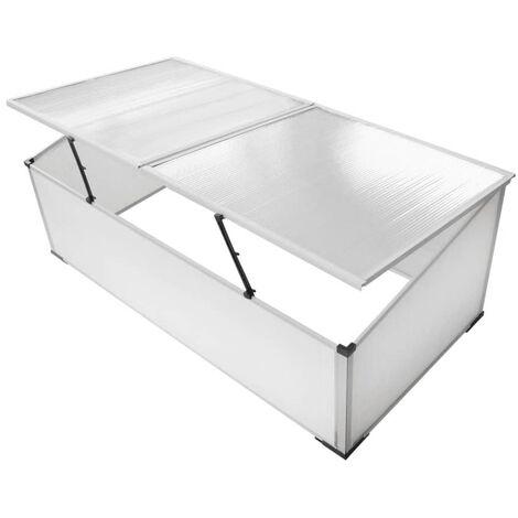 Vivero Para Plantas Invernadero 2 Tapas 110X41X55cm - Transparente