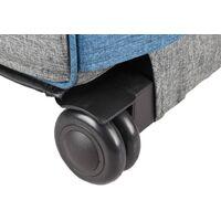 FLAMINGO Carro y mochila para mascotas 2 en 1 Kiara 517743 - Azul