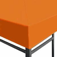 vidaXL Toldo de Cenador 310 g/m² 3x3 m Naranja - Naranja