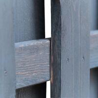 vidaXL Panel de valla de jardín madera de pino 180x180 cm gris - Gris
