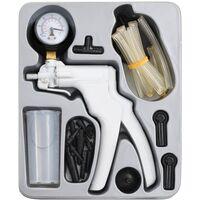 vidaX Kit de purgador de frenos y bomba de vacío
