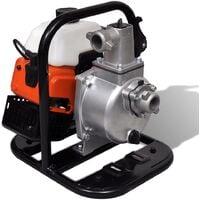 vidaXL Bomba de agua a gasolina 2 tiempos 1,2 kW 0,95 L
