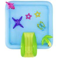 Bestway Piscina de juego Fantastic Aquarium 239x206x86 cm - Multicolor