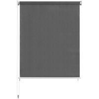 vidaXL Persiana enrollable de exterior 220x230 cm gris antracita - Antracita