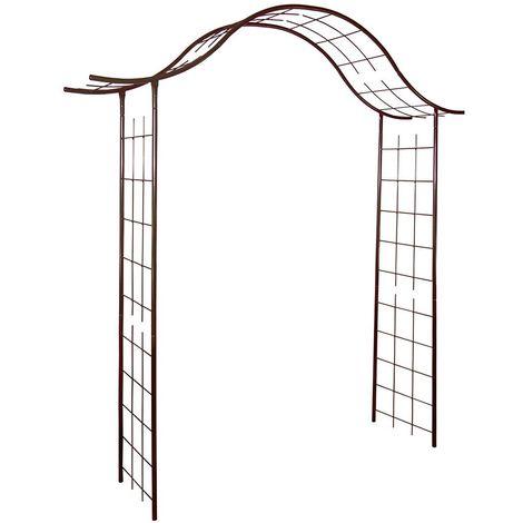 Arche de jardin portique en fer - Louis Moulin