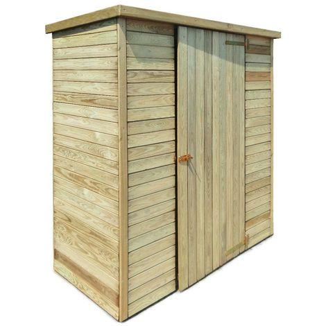 Abri de jardin en bois Marie 0.92 m²