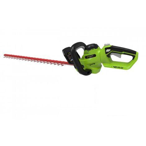 Greenworks G40HT61 Cordless 40v Hedge Trimmer 61cm/24in Bare Unit