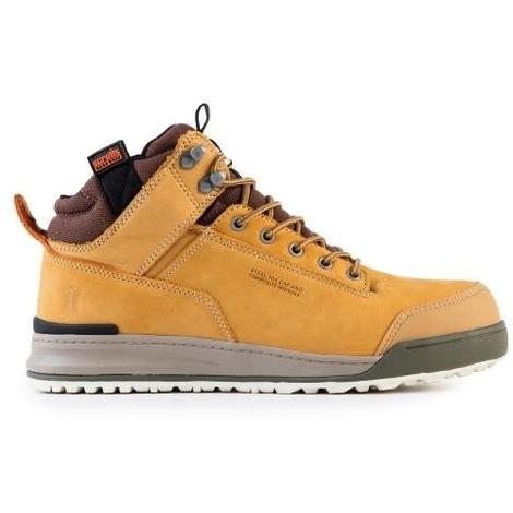 Scruffs SWITCHBACK Lightweight Safety Hiker Boot Tan - Size 8