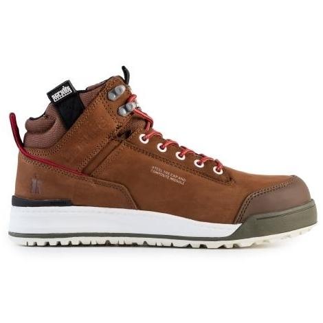 Scruffs SWITCHBACK Lightweight Safety Hiker Boot Brown - Size 12