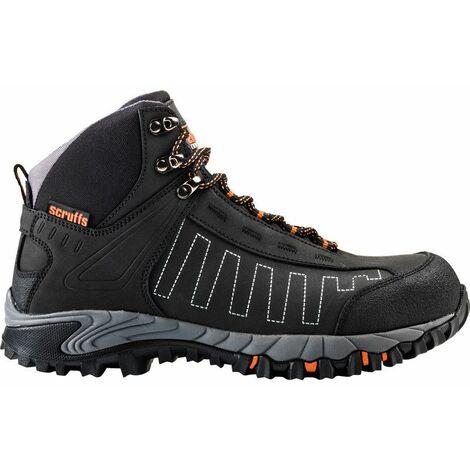 Scruffs CHEVIOT Waterproof Safety Hiker Boots Black - Size 11