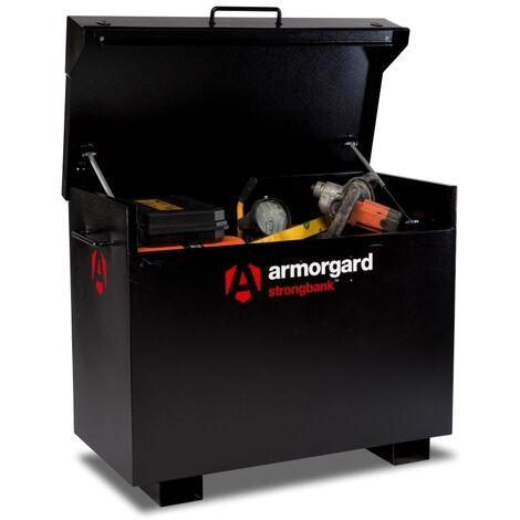 Armorgard StrongBank SB3 Site Secure Box Storage Safe Store 1300x690x670mm