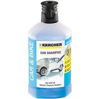 Karcher 3-In-1 Plug & Clean Car Shampoo Detergent Cleaner 1 Litre