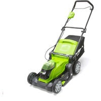 Greenworks G40LM41 Cordless 40v Lawn Mower 41cm/16in Bare Unit