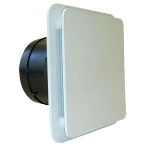 Bouche extraplate Design Volets orientables Manchette à griffes D125 mm
