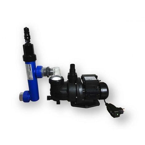 Pompe générateur uvc filtre piscine - BLUE LAGOON COMPACT4POOL