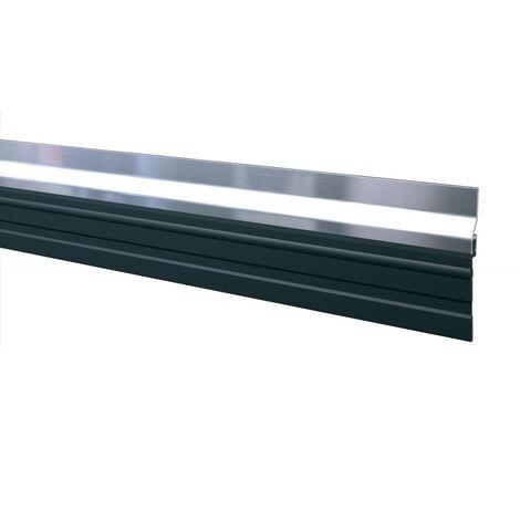 Plinthe en applique à grande lèvre de bas de porte type ADS - GL longueur 2,50 m