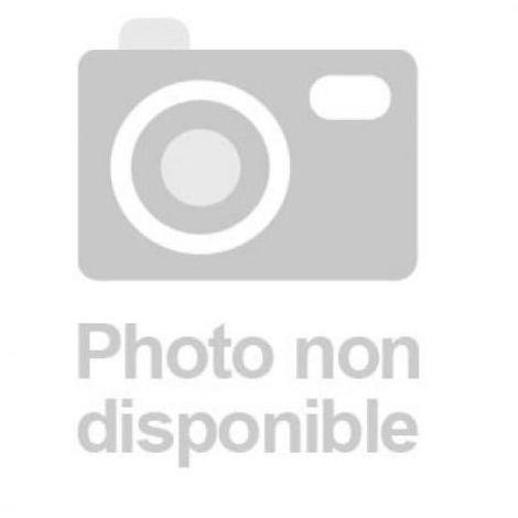 Barre de pivotement pour renfort de porte sur cornière hauteur 2200 mm 3 paumelles Maroc de 140 mm coloris marron gauche