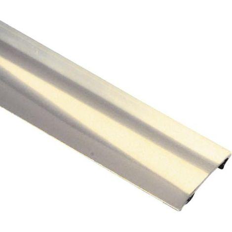 Seuil plat avec adhésif en laiton poli 30 x 930 mm