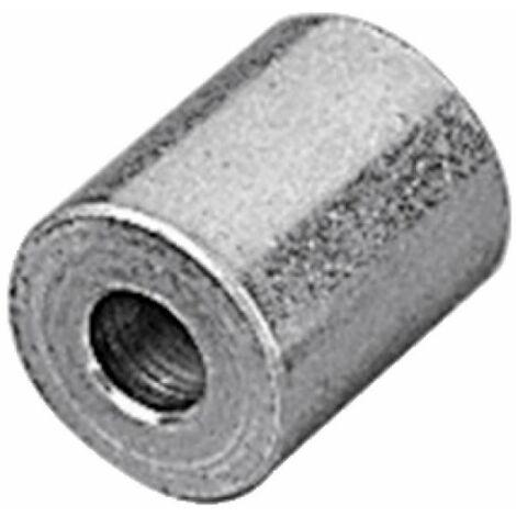 Entretoise pour gond à visser longueur 130 mm finition zingué
