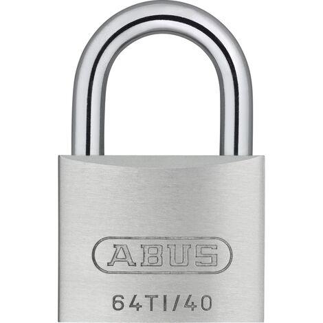 Cadenas Titalium série 64 en 60 mm 2 clés