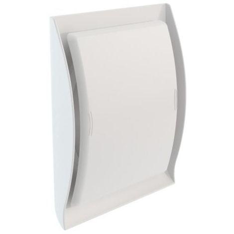 Grille de ventilation intérieure type Néolia pour gaine de Ø 125 mm coloris blanc