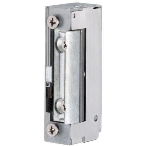 Gâche électrique type SPE 74 E à émission et contact sationnaire avec décondamnation manuelle