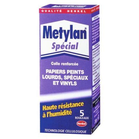 Colle papier-peint metylan, boite de 200 g