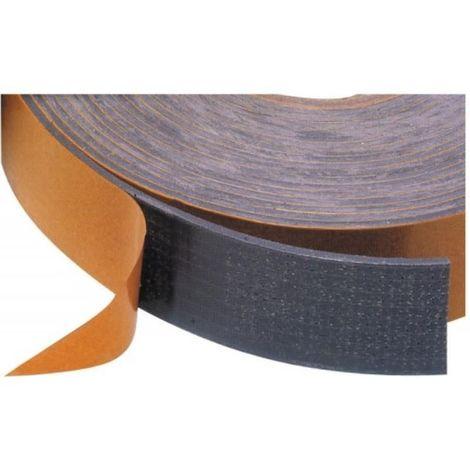 Joints souples élastomère adhésifs intumescents Tramifeu largeur 10 mm, épaisseur 2 mm, longueur 6 m