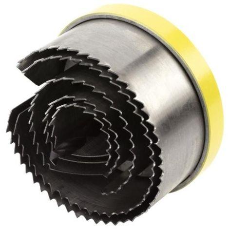 Scie cloche bois 5 lames hauteur 30 mm Ø 28-35-50-68-75 mm