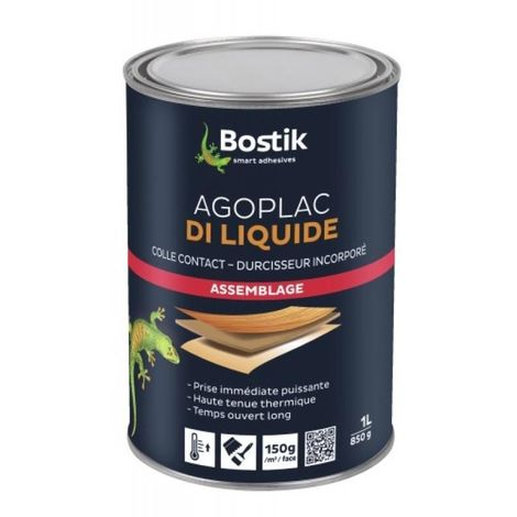 Colle néoprène Agoplac DI liquide, bidon de 5 litres