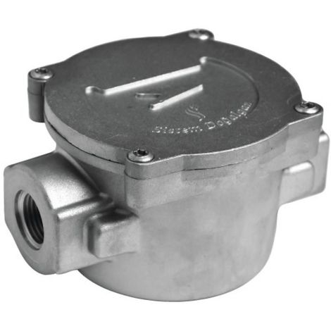 Filtre gaz 50 microns à cartouche FF 20x27 - 20 (n)m3/h - 6 bars maxi