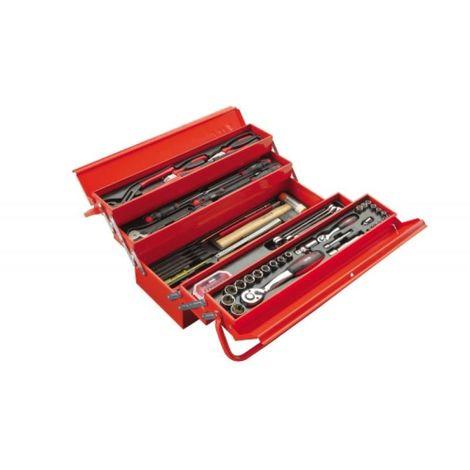 Composition 113 outils avec caisse métal CP-113BOX