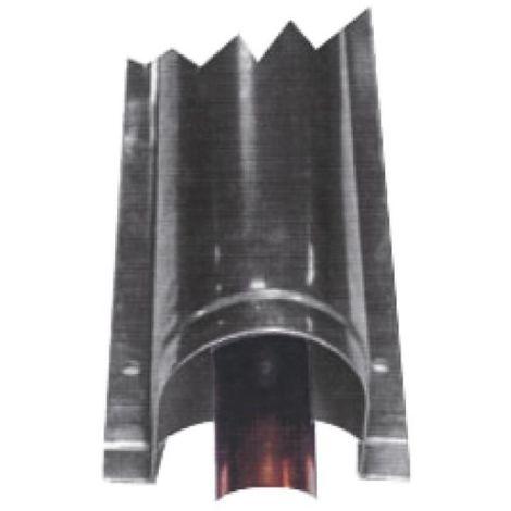 Goulotte de protection inox largeur 70 mm