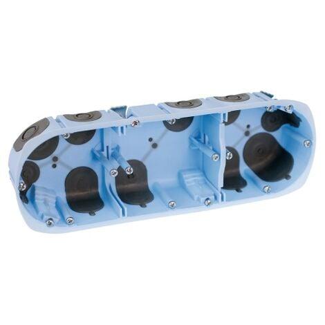 Boîte d'encastrement XL air'métic 3 postes Ø 67 mm