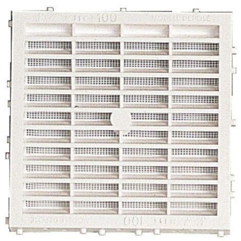 Grille de ventilation extérieure à combinaison à sceller type M114