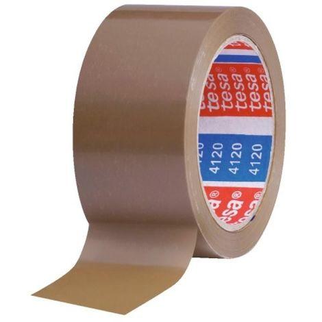 Adhésif d'emballage 4120, havane, largeur 50 mm, rouleau de 66 m - Havane - Havane