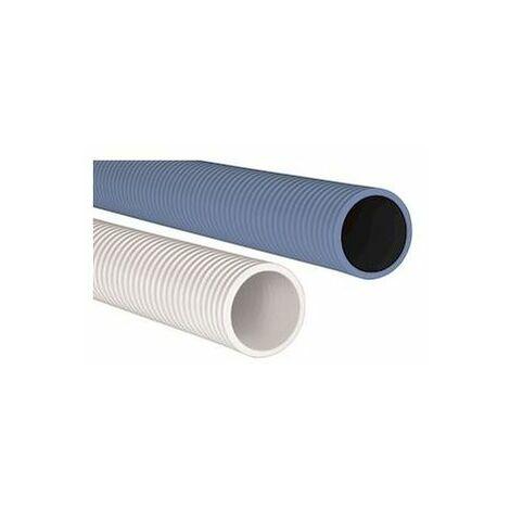 Conduit Optiflex circulaire bleu antistatique D90  50 mètres
