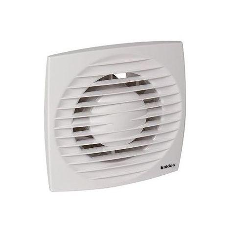 Extracteur Design 100 Aldes manuel silencieux basse consommation - Blanc - Blanc