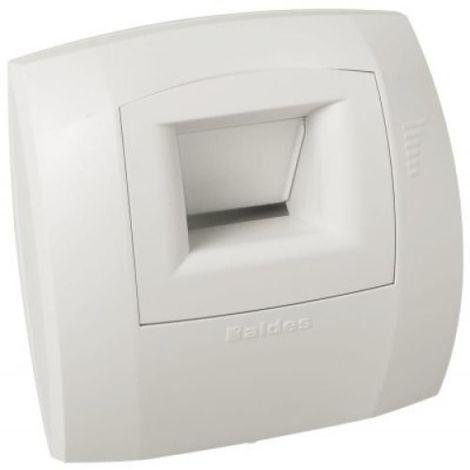 Bouche dextraction VMC hygroréglable Bahia pour salle de bain/WC - Blanc