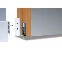 Plinthe automatique à joint silicone souple Ellen-Matic 2 longueur 83 cm