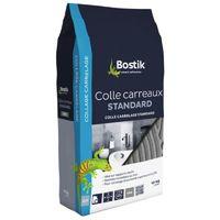 Colle carrelage standard sols et murs, coloris gris, 10 kg