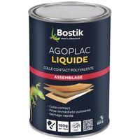 Colle contact AGOPLAC liquide bidon de 1 litre