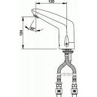 Mitigeur Optoélectronique Volta 55216