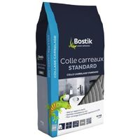 Colle carrelage standard sols et murs, coloris gris, 5 kg