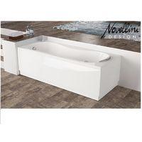 Vasca Rettangolare in Acrilico Bianco Lucido Novellini Modello Calypso cm160x70