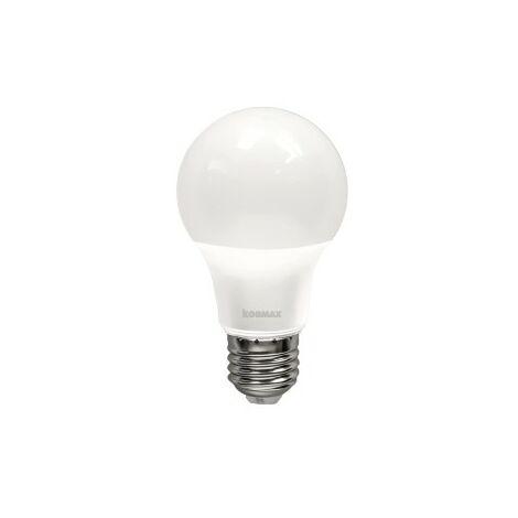 Lampara led a60-9w-e27 standar luz calida 3000