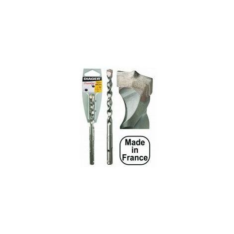 Meches beton sds+ twister2 plus réf 110d25l260désignation 1 mèchediamètre 25,0 mmlongueur 260 / 200 mm